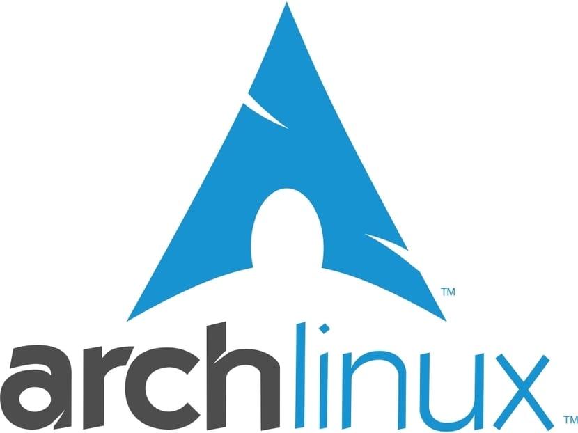Arch Linux logo forma de A
