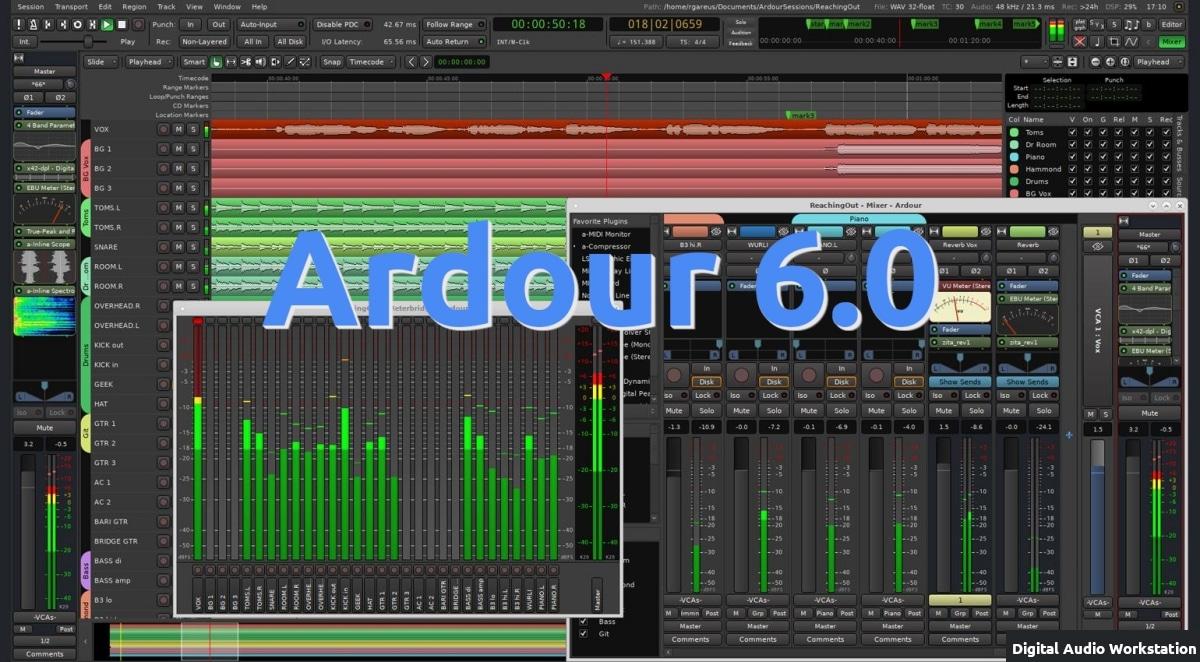Ardour 6.0