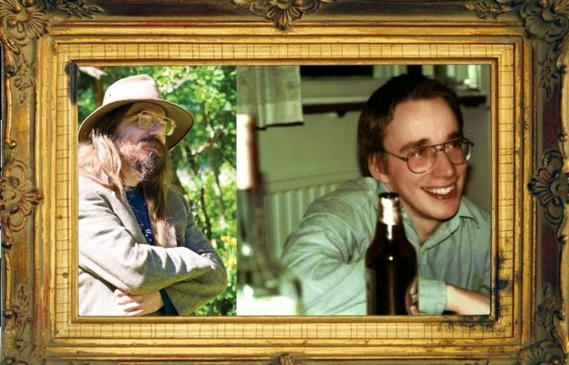 Ari Lemmke y Linus Torvalds