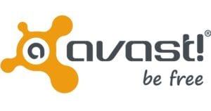 AVAST logo: be free