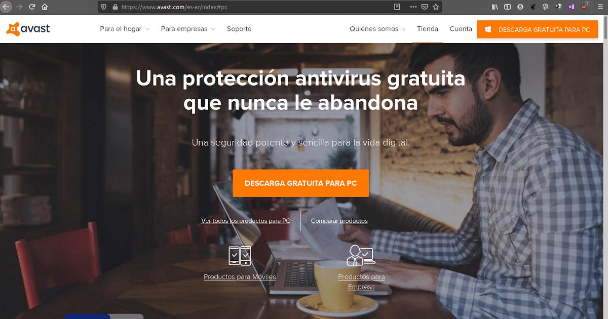 Acusan a Avast de espiar datos de sus usuarios.