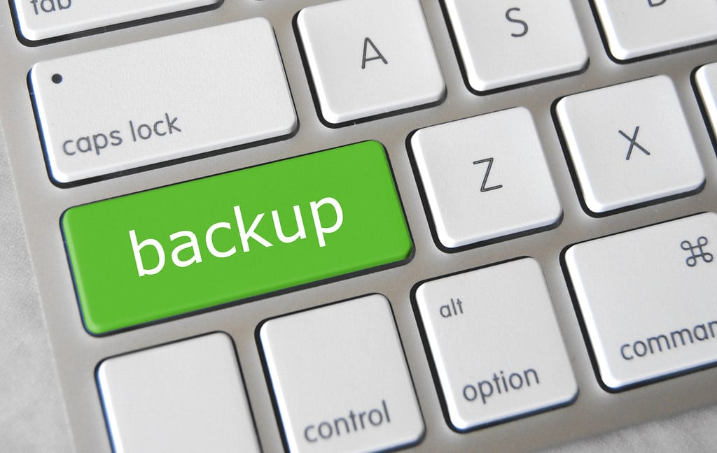 backup, copia de seguridad