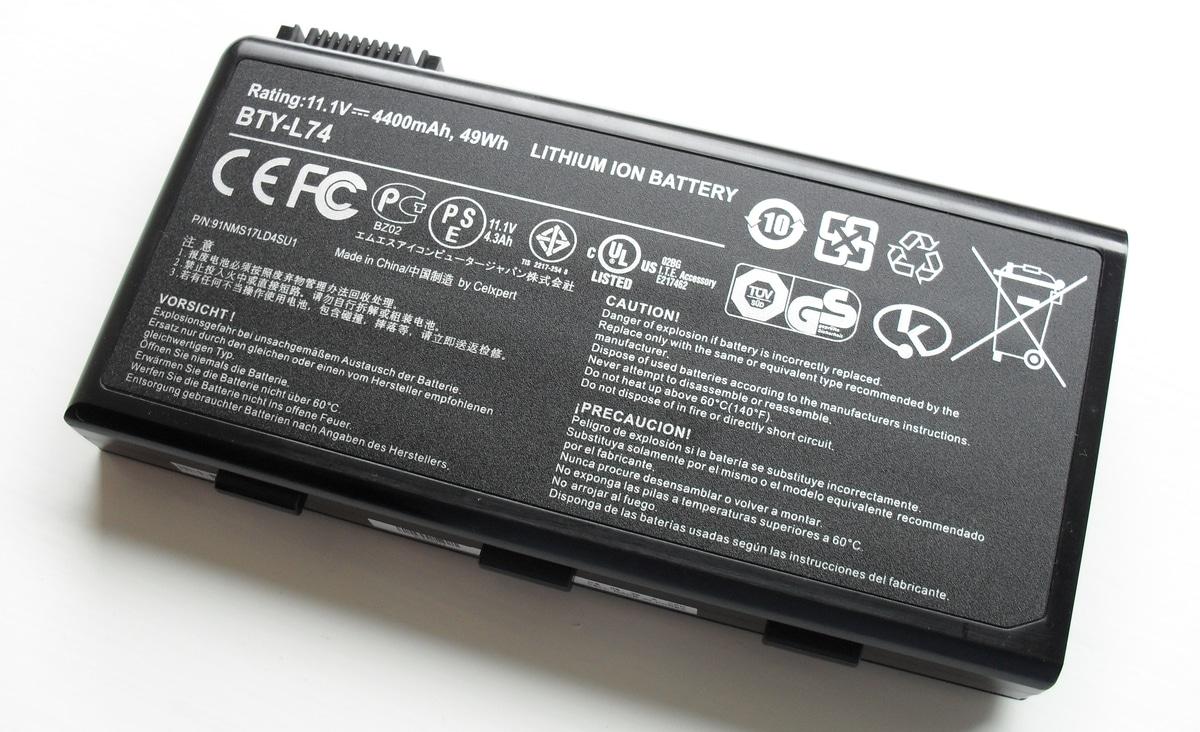 batería ultrabooks