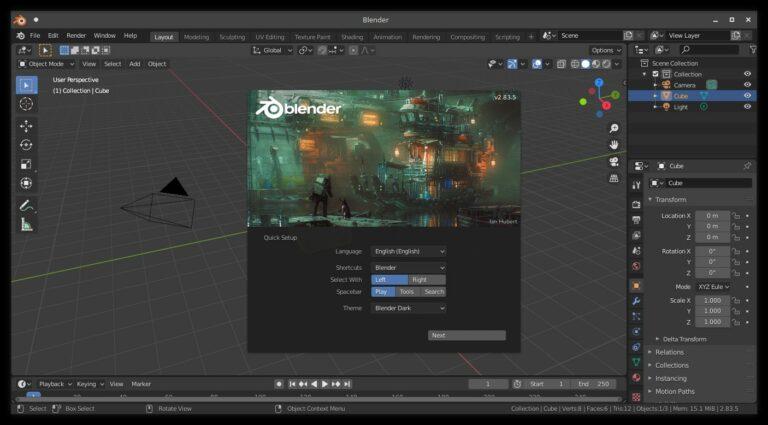 Canonical dará soporte a Blender