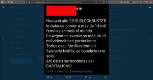 La verdad sobre Blockbuster