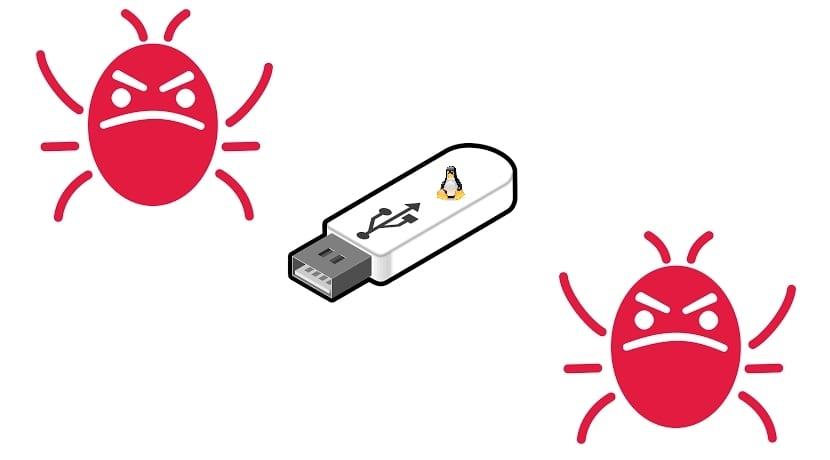 Pendrive USB bugs