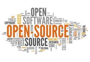 Collage: Palabras sobre el código abierto