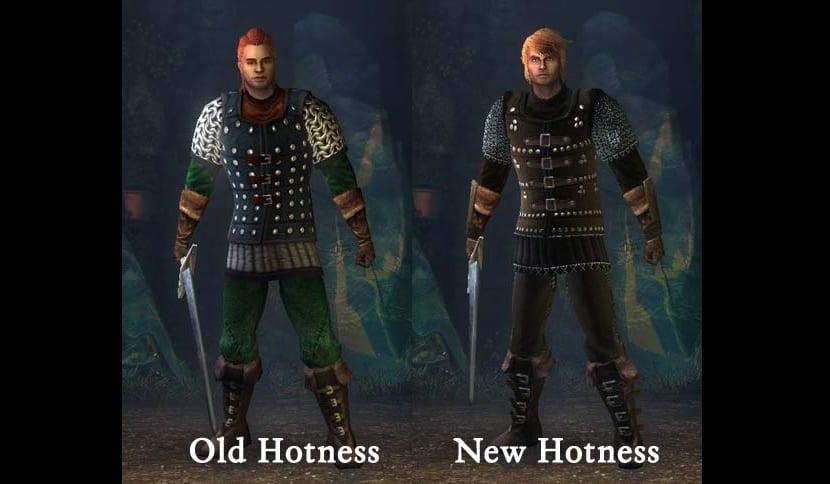 Mejoras visuales en el personaje principal del juego