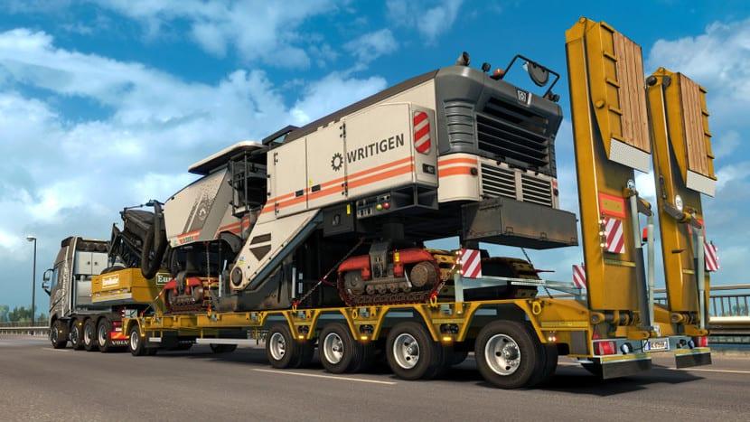 Camión del Euro Truck Simulator 2: captura pantalla