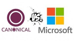 Logos Canonical vs Microsoft