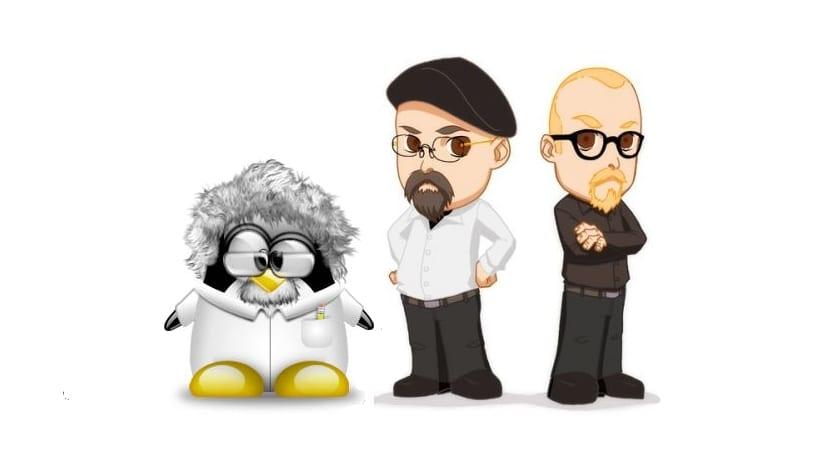 Cazadores de mitos: caricatura