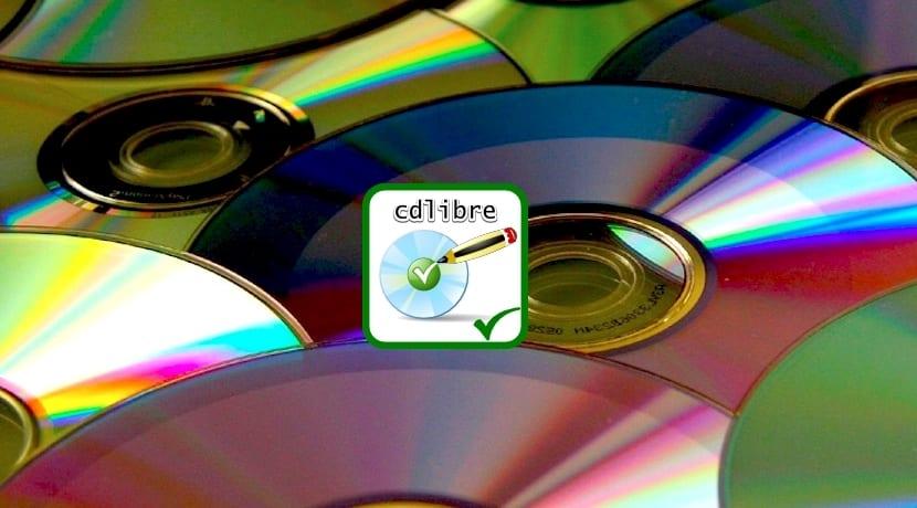 cdlibre.org Logo sobre CDs
