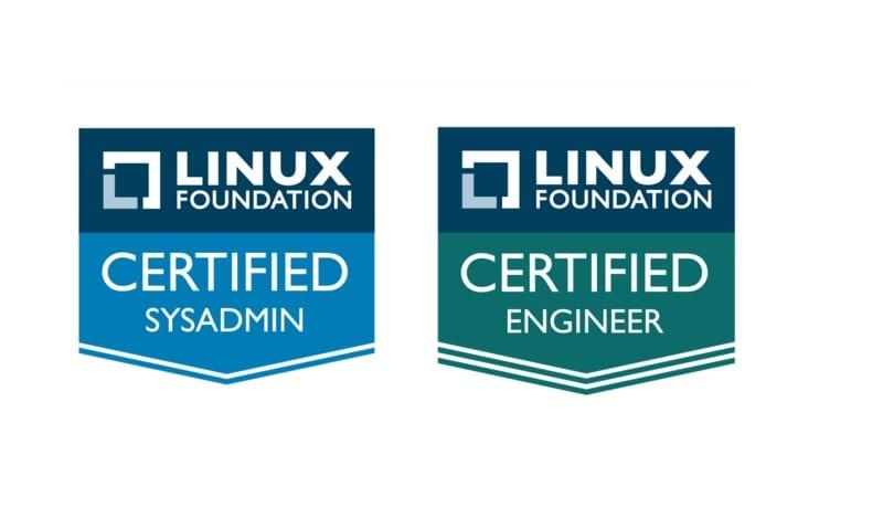 Logos de los Certificados de la Linux Foundation