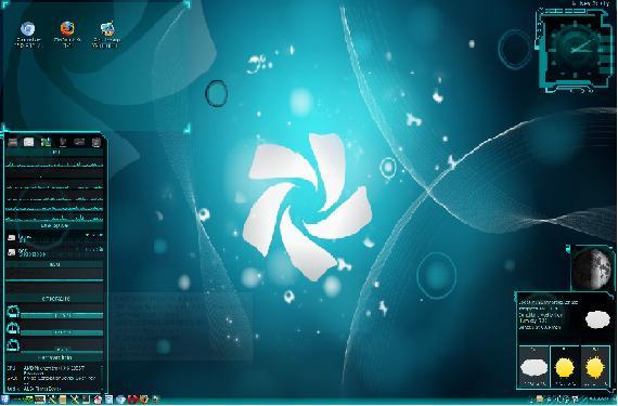 Chakra Linux Desktop