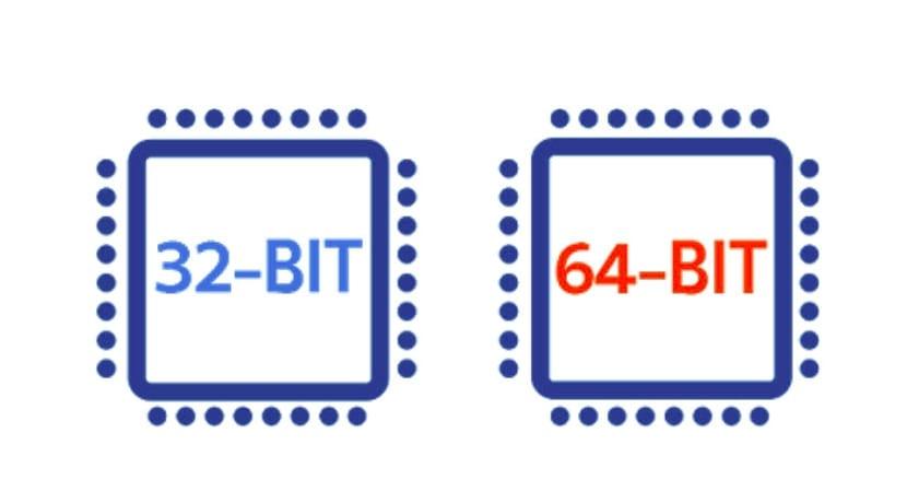 Chip 32 y 64 bit