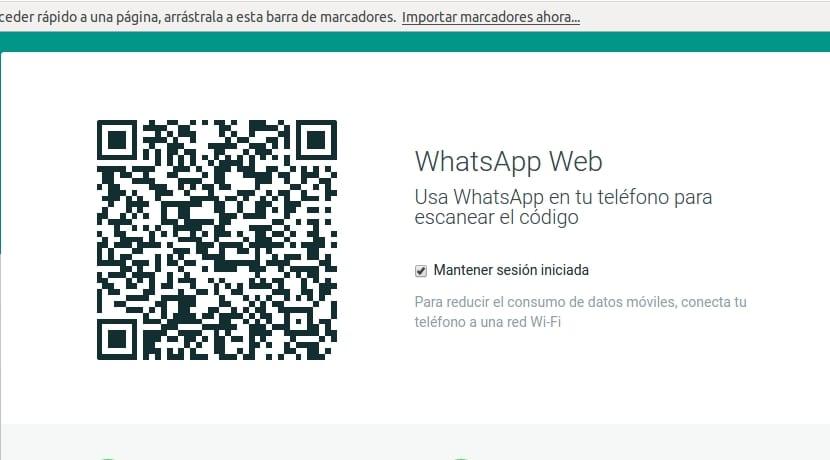 Código QR Whastapp Web