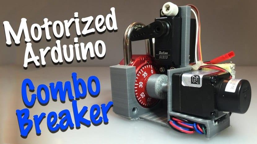 Combo BReaker robot con candado Master Lock