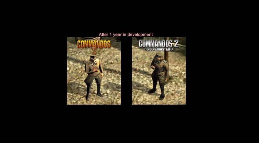 Commandos 2 vs Commandos 2 HD Remaster