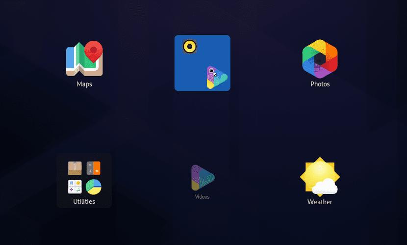 Gnome 3.34 nos permite crear carpetas arrastrando un icono sobre otro