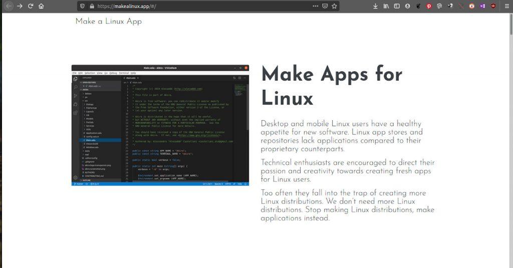 ¿Quieres crear aplicaciones Linux?