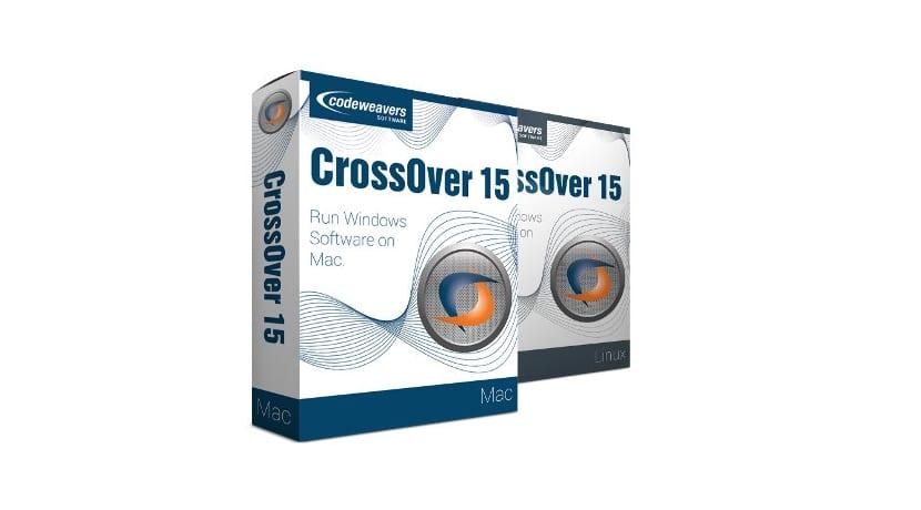 Crossover 15 cajas Linux y Mac