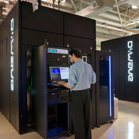 D-Wave computadora cuántica