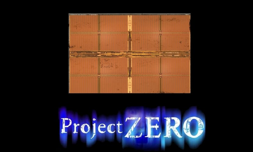 DDR3 die y logo Project Zero