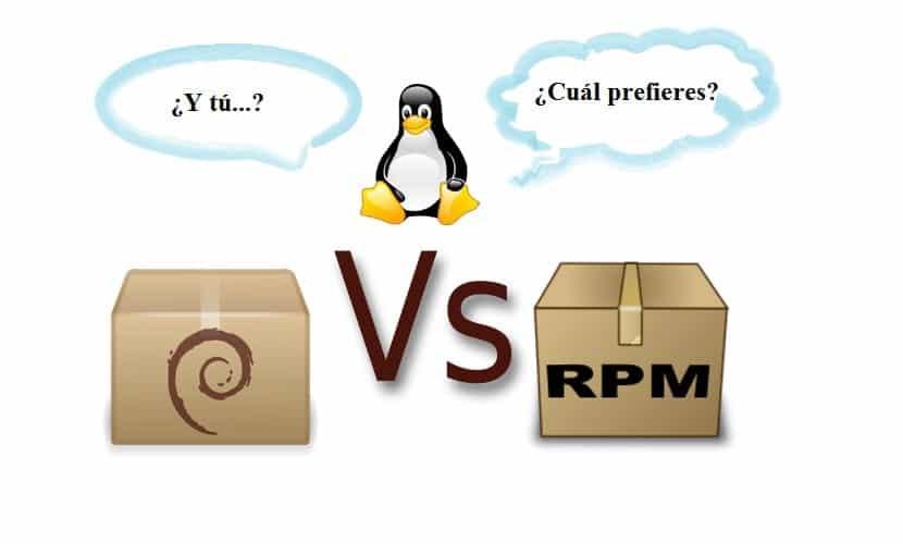 deb vs rpm Tux: ¿Y tú cual prefieres?
