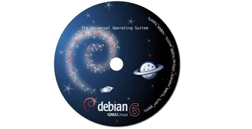CD Debian 6