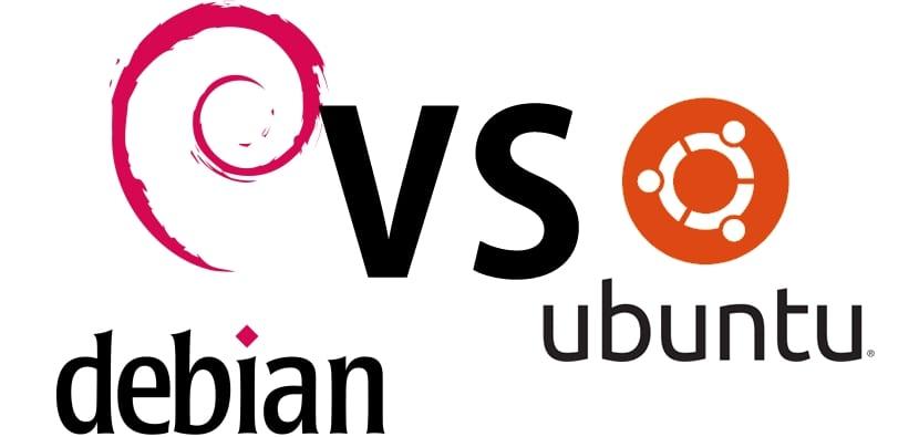 Logos: Debian vs Ubuntu