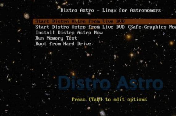 Distro Astro