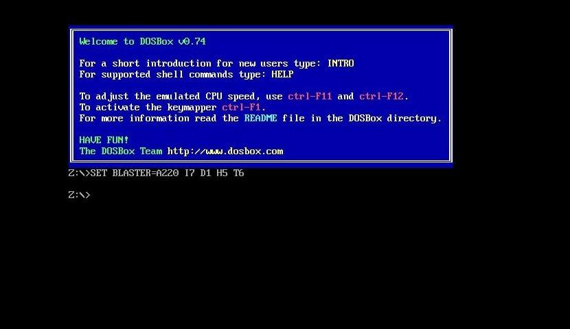 Captura de DOSBox