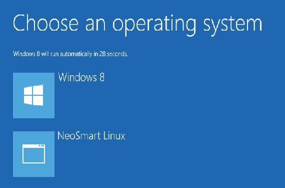 Dual boot Win8 y Linux