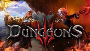Dungeons 3: portada