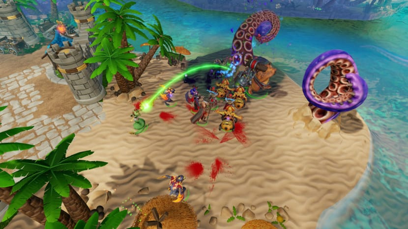 Captura de pantalla Dungeons 3