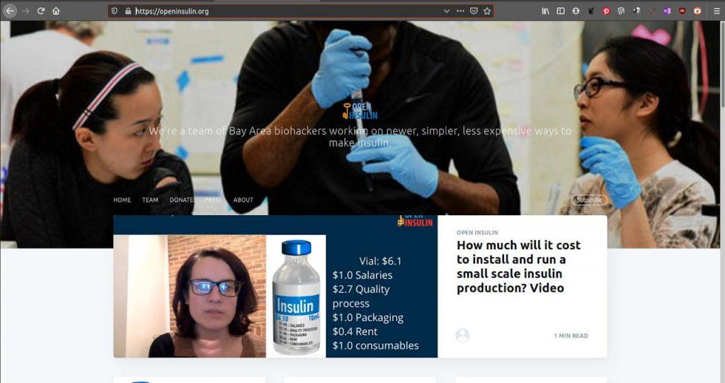 El proyecto Open Insuline