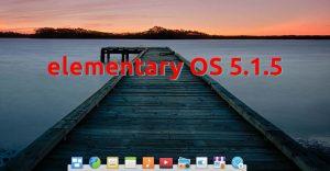 elementary OS 5.1.5