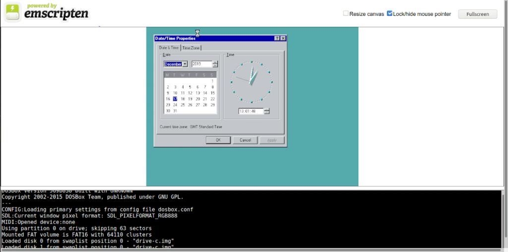 Prueba sistemas operativos históricos en tu navegador