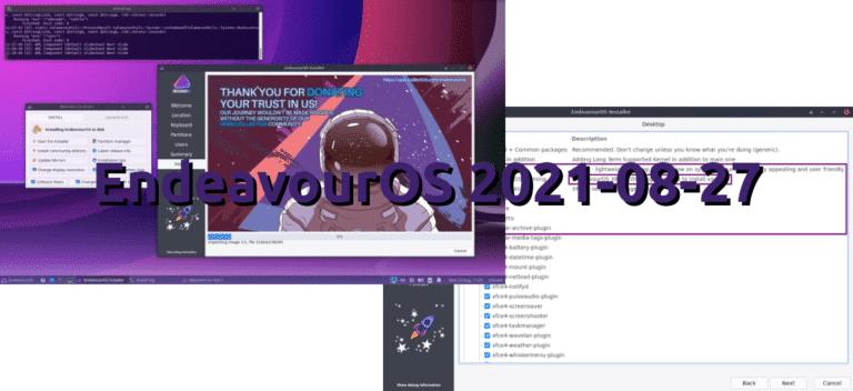 EndeavourOS 2021-08-27