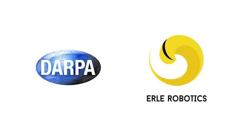 Logos de DARPA y Erle-Robtics