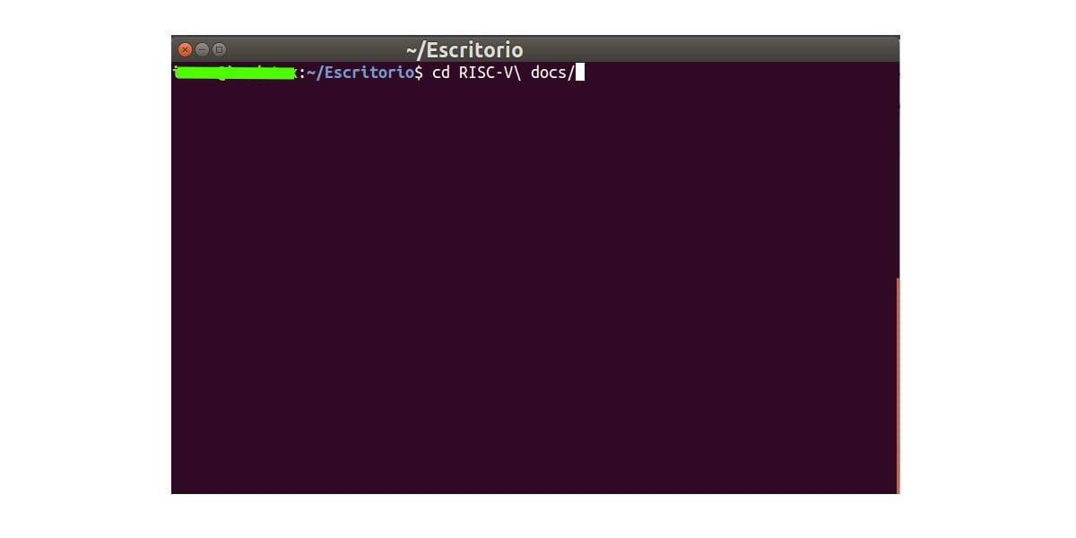 espacios nombres Linux