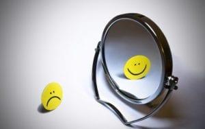 Espejo reflejándose smiley
