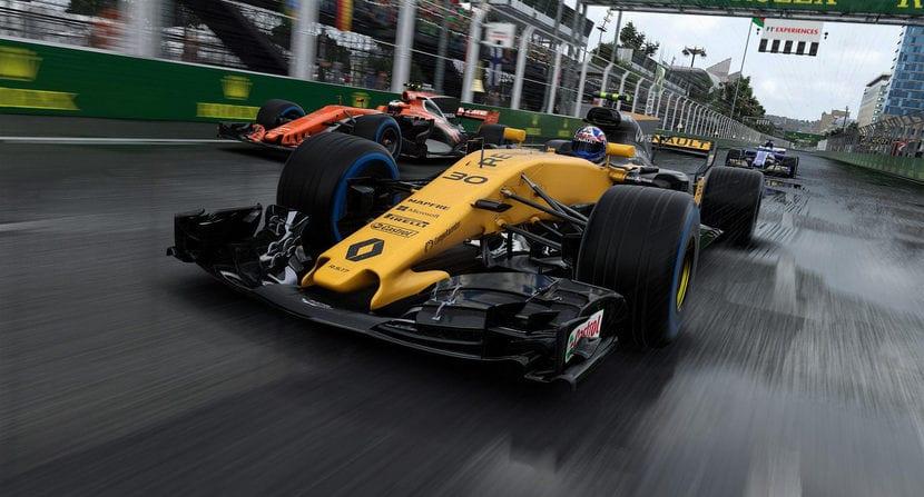 F1 2017: captura del videojuego