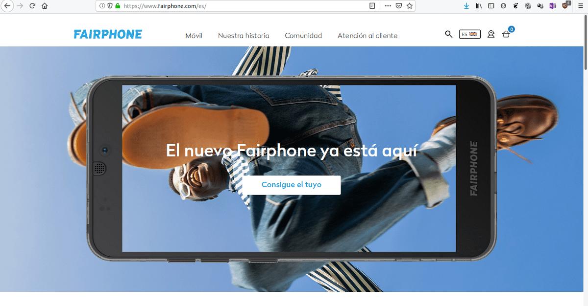 Anuncio del nuevo Fairphone 3