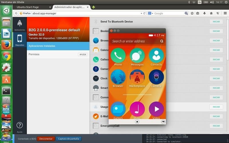 Firefox OS en Firefox