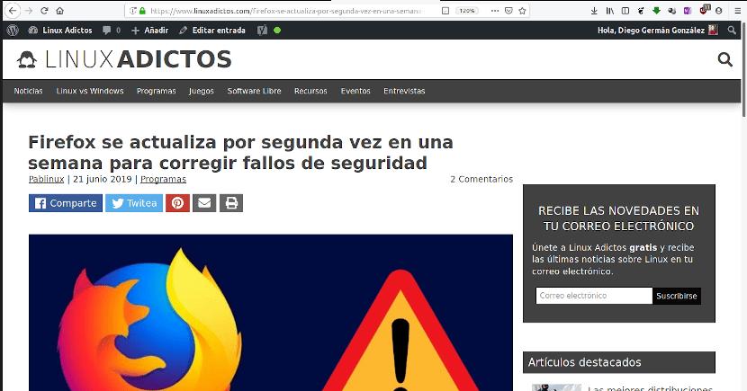Mozilla usará tecnología Microsoft para actualizar Firefox