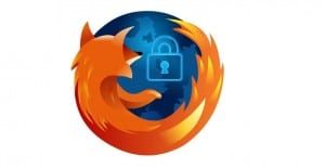 logo Firefox con candado