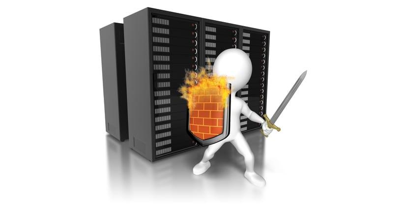 Firewall cortafuegos símbolo