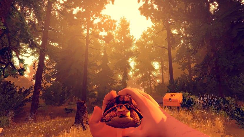Firewatch: captura de pantalla del juego
