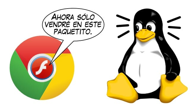 Sólo se podrá usar Flash en Linux a través de Chrome
